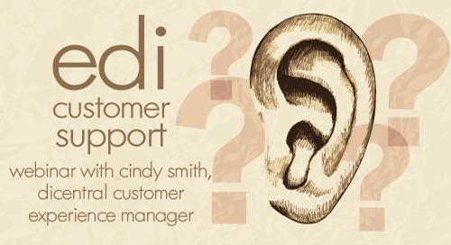 Webinar: EDI Customer Support