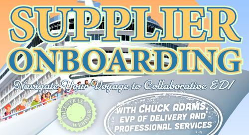 Webinar: Supplier Onboarding: Navigate Your Voyage to Collaborative EDI