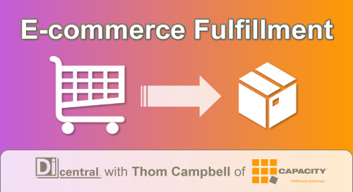 Webinar: E-commerce Fulfillment (with Thom Campbell of Capacity LLC)