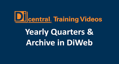 Yearly Quarters & Archive in DiWeb