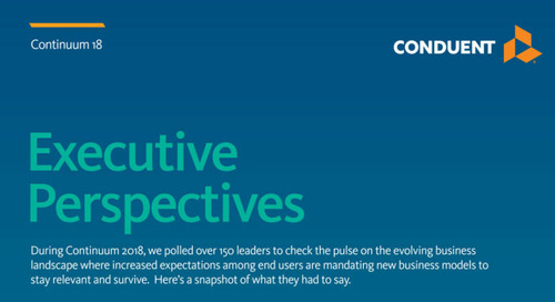 Infographic: Continuum 2018 - Executive Perspectives