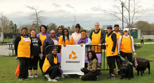 The Conduent Day of Service and Sharing – Employees Giving Back to Communities Around the Globe