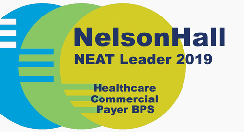 Conduent HSP Payer Suite Earns Leadership Ranking in NelsonHall's Healthcare Commercial Payer BPS Report