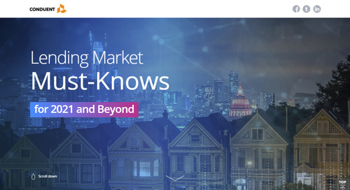 Lending Market Must-Knows for 2021 and Beyond