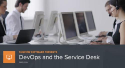 DevOps and Service Desk