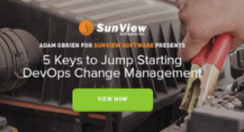 5 Keys to Jump Starting DevOps