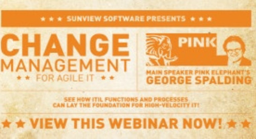 Change Management for Agile IT