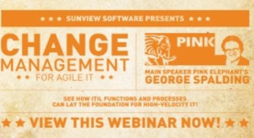 Change Management for Agile IT