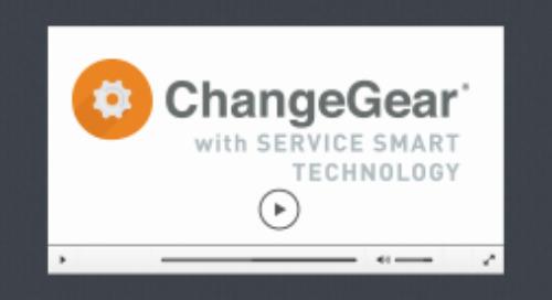 ChangeGear 7 Service Smart Features Overview Video