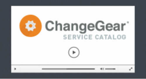 Service Catalog Overview Demo