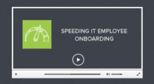 AI For Service Desk Video: Speeding Up IT Employee Onboarding