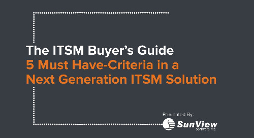 The ITSM Buyers Guide