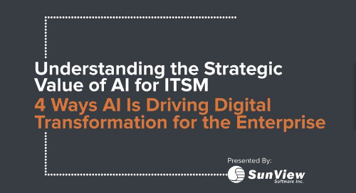 Understanding the Strategic Value of AI for ITSM