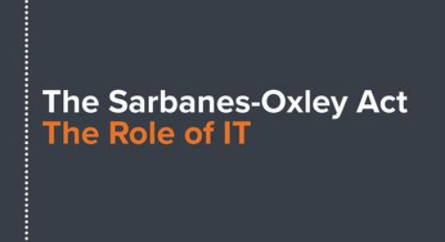 The Sarbanes-Oxley Act: The Role of IT
