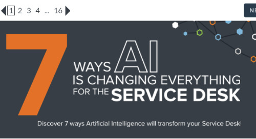 7 Ways AI is Changing Everything for the Service Desk