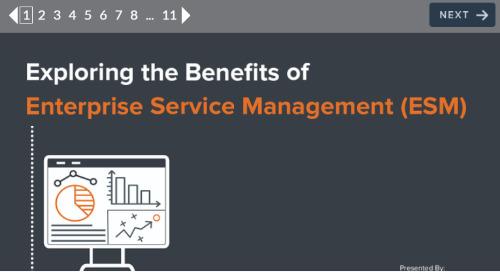 Exploring the Benefits of Enterprise Service Management (ESM)
