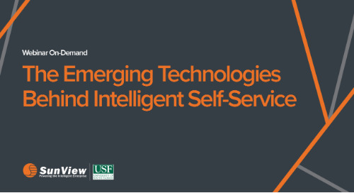 The Emerging Technologies Behind Intelligent Self-Service