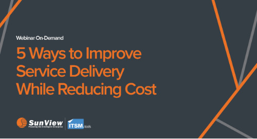 5 Ways to Improve Service Delivery While Reducing Cost