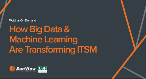 How Big Data & Machine Learning Are Transforming ITSM