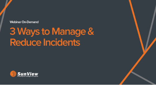 3 Ways to Manage & Reduce Incidents