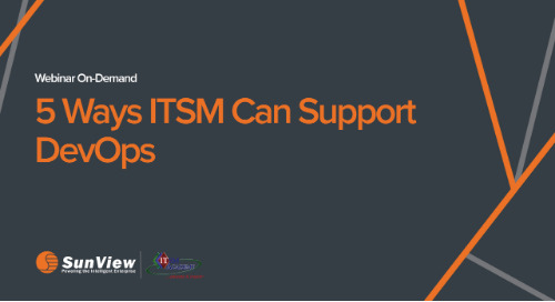 5 Ways ITSM Can Support DevOps