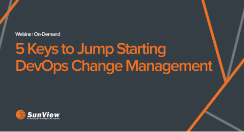 5 Keys to Jump Starting DevOps Change Management