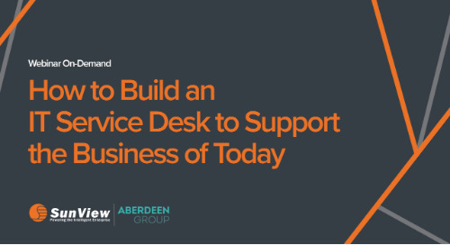 How to Build an IT Service Desktop Support the Business of Today