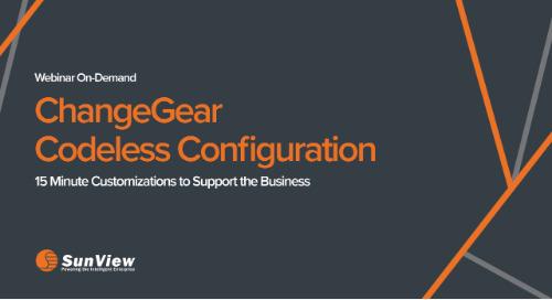ChangeGear Codeless Configuration