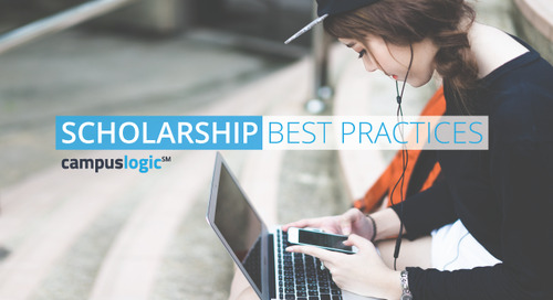 Help Your Students Manage the Scholarship Process