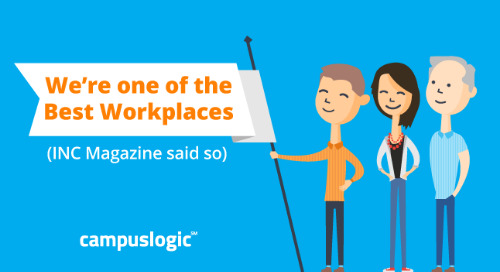 CampusLogic Named an INC Best Workplace