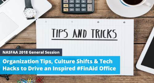 [NASFAA 2018 Presentation] Satisfied Employees Isn't Enough: How to Drive an Inspired #FinAid Office