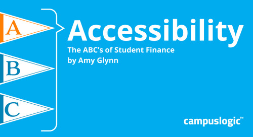 A Is for Access: Part 2 of the ABCs of Student Finance