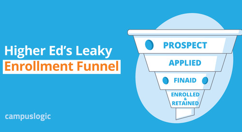 Higher Ed's Leaky Enrollment Funnel [Infographic]