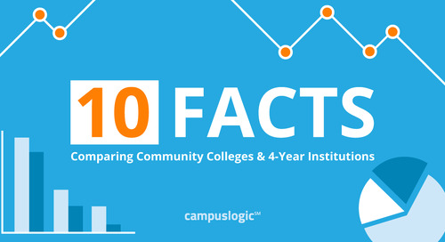 10 Interesting Facts Comparing Community Colleges & 4-Year Institutions