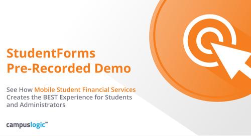 StudentForms Demo