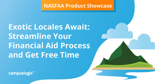 This NASFAA Product Showcase Will Help You Take A Vacation This Year