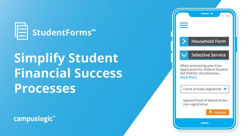 StudentForms Product Brief