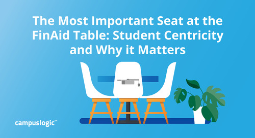 The Most Important Seat at the FinAid Table: Student Centricity and Why it Matters