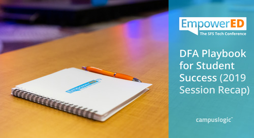 DFA Playbook for Student Success: An Empowered19 Session