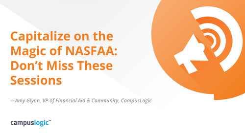Capitalize on the Magic of NASFAA: Don't Miss These Sessions
