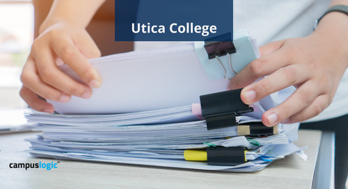 Mobile-Friendly, Paperless Financial Aid Drives Student Success at Utica College