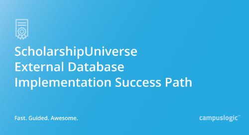 ScholarshipUniverse External Database Implementation Success Path