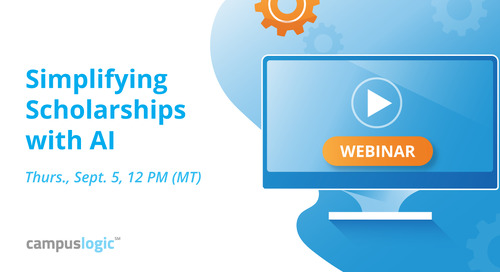 Simplifying Scholarships with AI [Webinar]