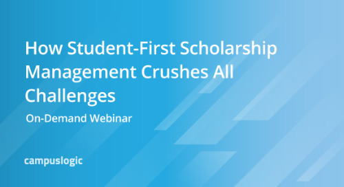 How Student-First Scholarship Management Crushes All Challenges [On-Demand Webinar]
