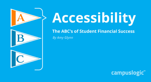 A Is for Access: Part 2 of the ABCs of Student Financial Success