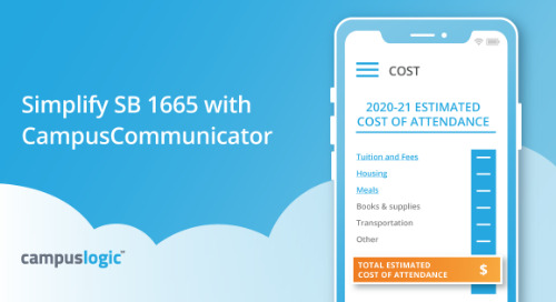 Simplify SB 1665 with CampusCommunicator