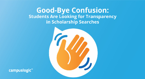 Good-Bye Confusion: Students Are Looking for Transparency in Scholarship Searches