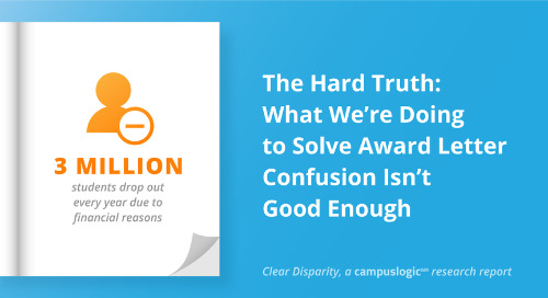 The Hard Truth: What We're Doing to Solve Award Letter Confusion Isn't Good Enough