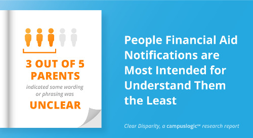 Clear Disparity: People Financial Aid Notifications Are Most Intended for Understand Them the Least