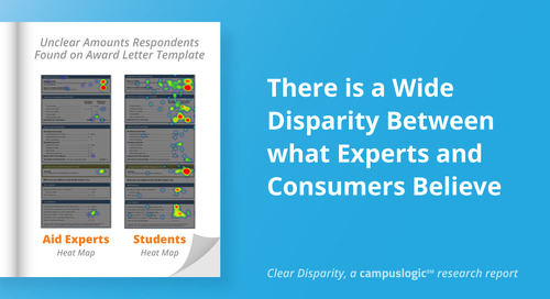 Clear Disparity: There Is a Wide Disparity Between What Experts and Consumers Believe